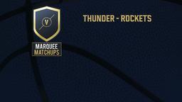 Thunder - Rockets