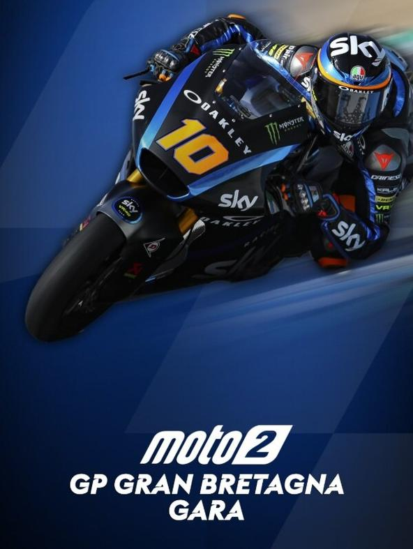 Moto2 Gara: GP G. Bretagna