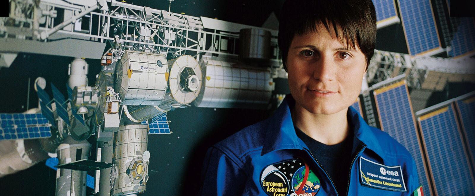 Astrosamantha: la donna dei record..