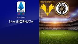 Verona - Spezia. 34a g.