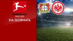 Bayer Leverkusen - Eintracht Francoforte. 31a g.
