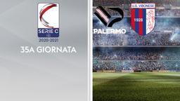 Palermo - Vibonese. 35a g.