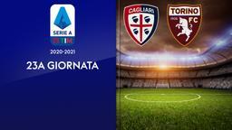Cagliari - Torino. 23a g.