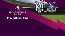 West Bromwich Albion - Crystal Palace. 11a g.