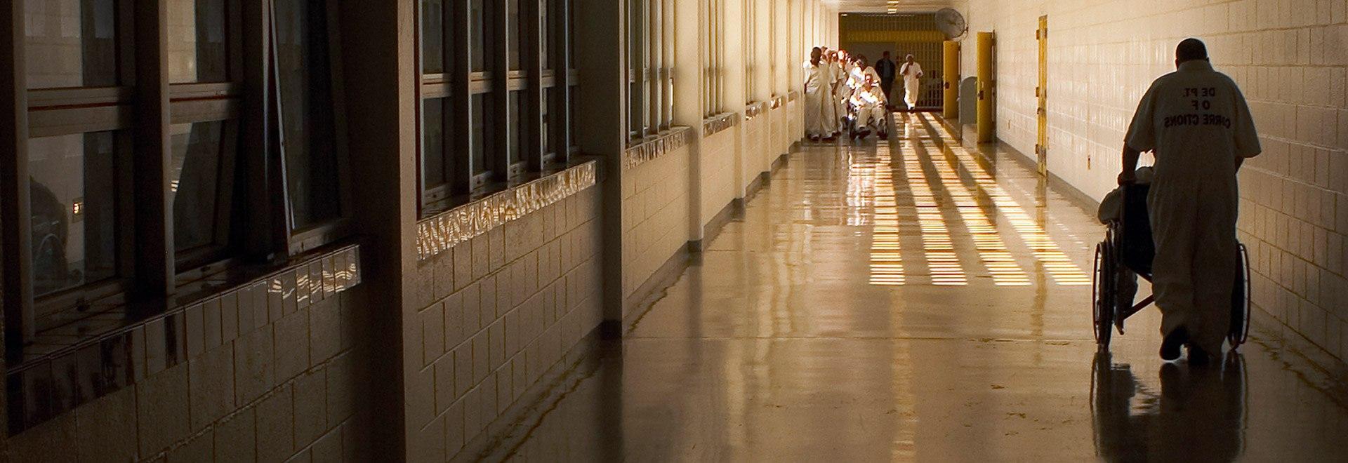 Nel centro di detenzione