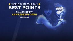 Migliori 3 punti Santander Open Femminile