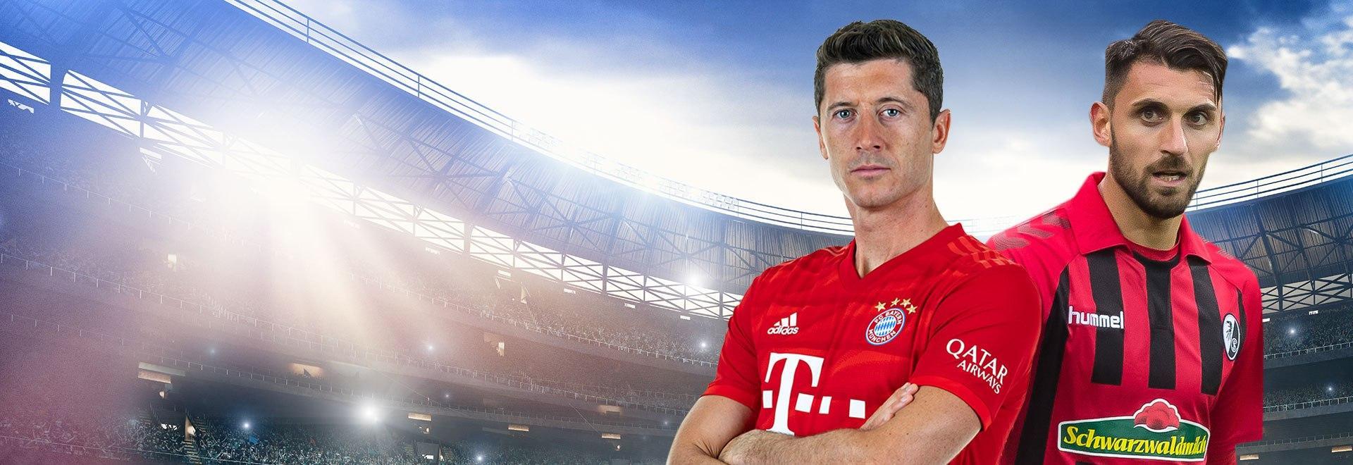 Bayern M. - Friburgo. 33a g.