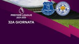 Everton - Leicester City. 32a g.