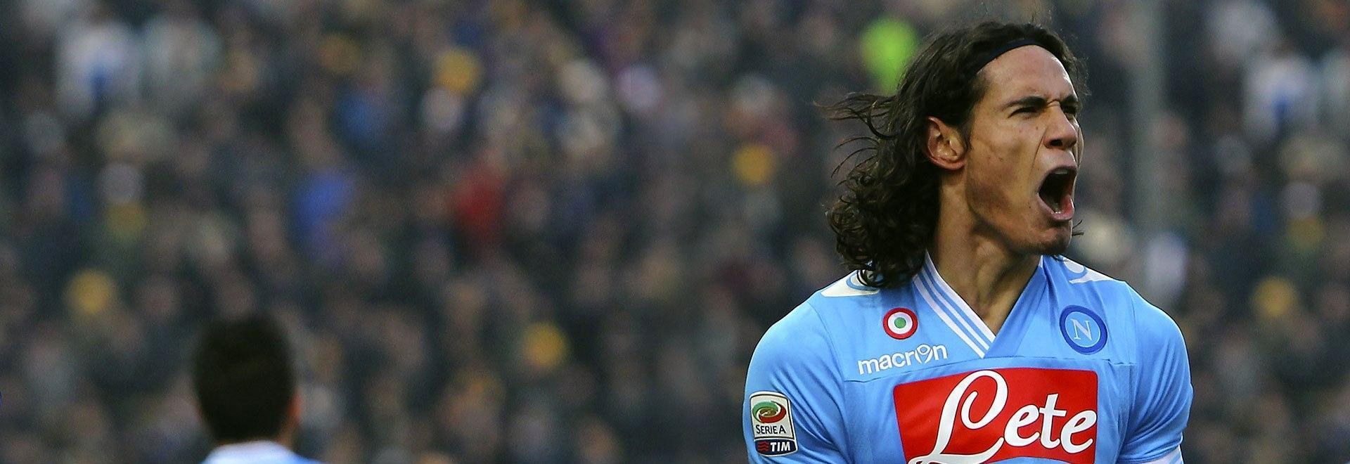 Cavani 100 gol e Oltre in Serie A