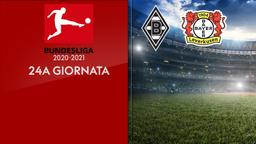 Borussia Moenchengladbach - Bayer Leverkusen. 24a g.