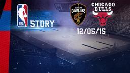 Cleveland - Chicago 12/05/15. Playoff Gara 5