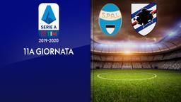 Spal - Sampdoria. 11a g.