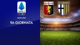 Genoa - Parma. 9a g.