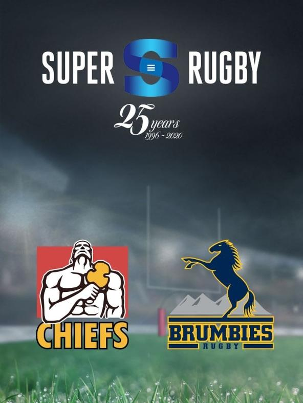 Rugby: Chiefs - Brumbies