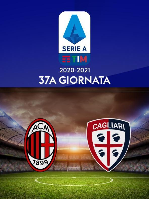 Milan - Cagliari. 37a g.