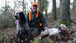 A caccia con mamma e papà