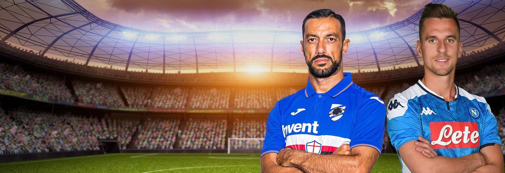 Sampdoria - Napoli. 22a g.