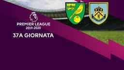 Norwich City - Burnley. 37a g.