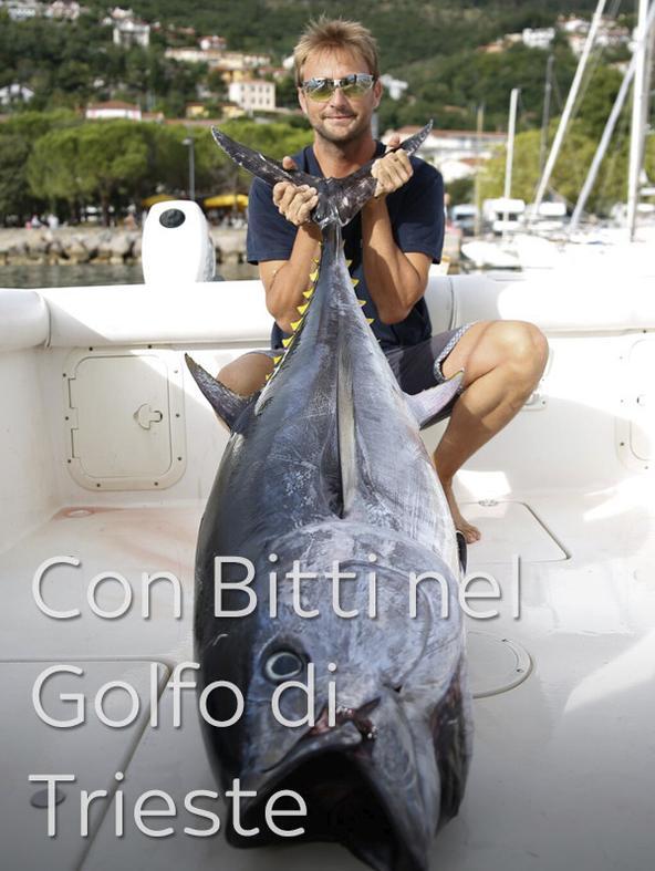 Con Bitti nel Golfo di Trieste