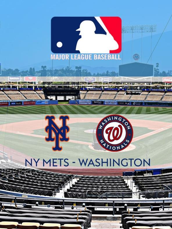 MLB: NY Mets - Washington  (diretta)
