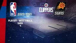 LA Clippers - Phoenix. Playoff - West Finals. Gara 4