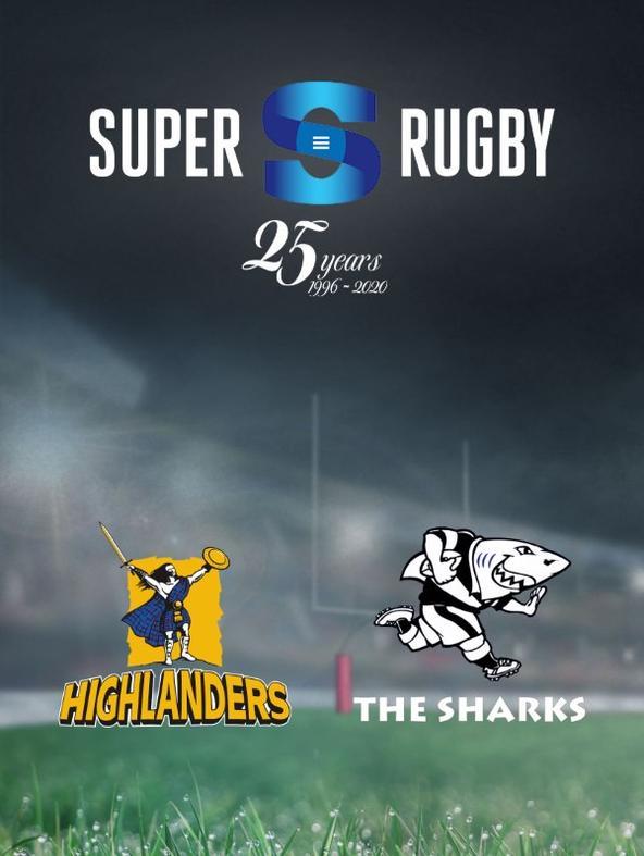 Highlanders - Sharks