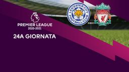Leicester - Liverpool. 24a g.