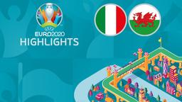 Italia - Galles. 3a g. Gruppo A