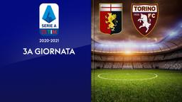 Genoa - Torino. 3a g.