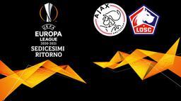 Ajax - Lille. Sedicesimi Ritorno