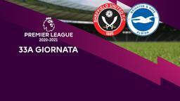 Sheffield United - Brighton & Hove Albion. 33a g.