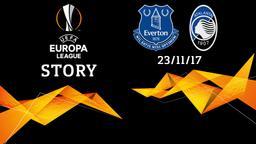 Everton - Atalanta 23/11/17. 5a g.
