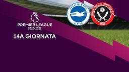Brighton & Hove Albion - Sheffield United. 14a g.