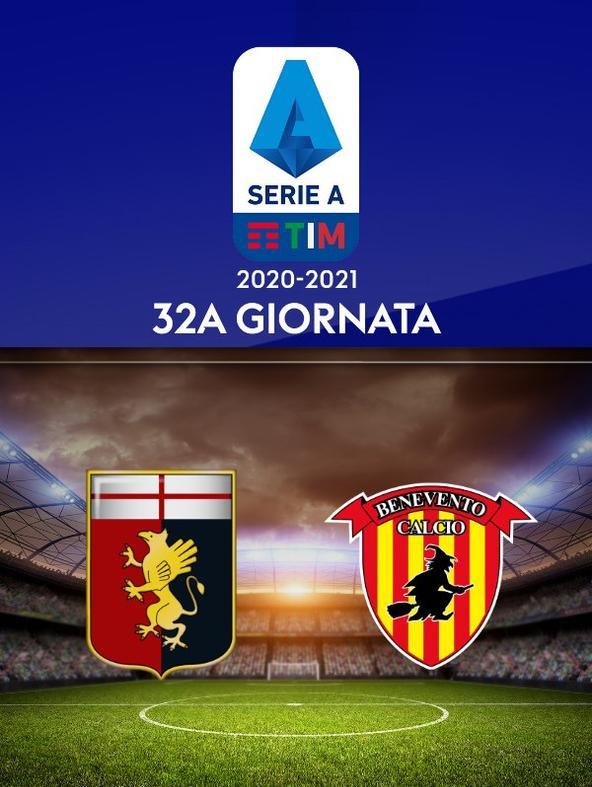 Genoa - Benevento. 32a g.
