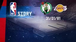 Boston - LA Lakers 31/01/81