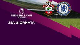 Southampton - Chelsea. 25a g.