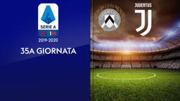 Udinese - Juventus. 35a g.