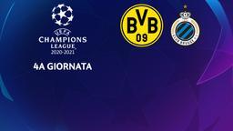 Borussia Dortmund - Club Brugge. 4a g.