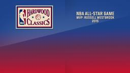 NBA All-Star Game MVP: Russell Westbrook 2015