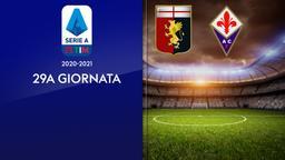 Genoa - Fiorentina. 29a g.