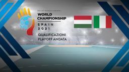 Ungheria - Italia. Playoff Andata