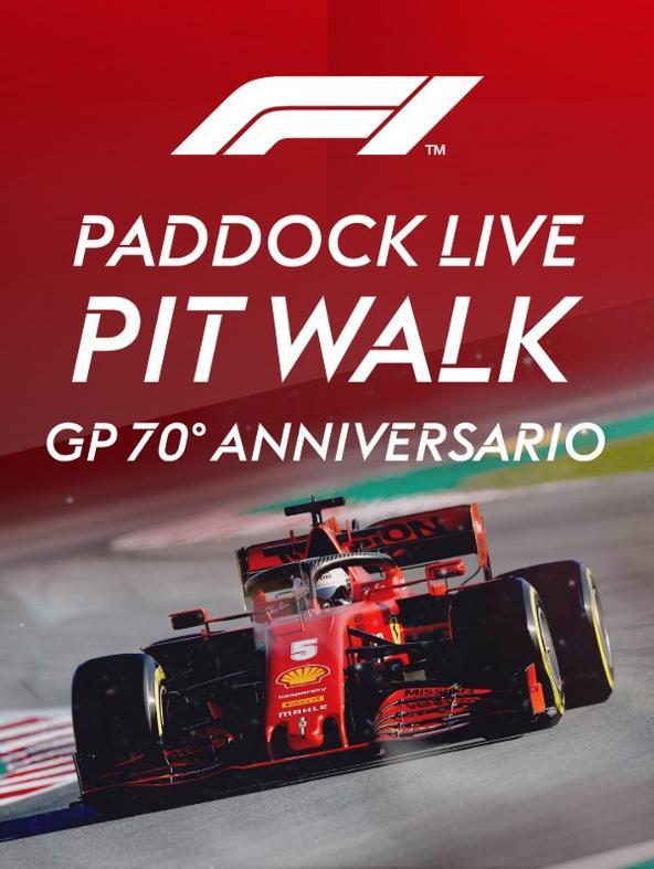 Paddock Live Pit Walk