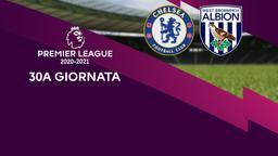 Chelsea - West Bromwich Albion. 30a g.