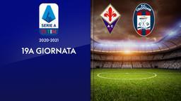Fiorentina - Crotone. 19a g.