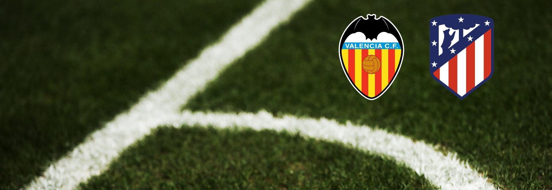 Valencia - Atlético Madrid. 24a g.