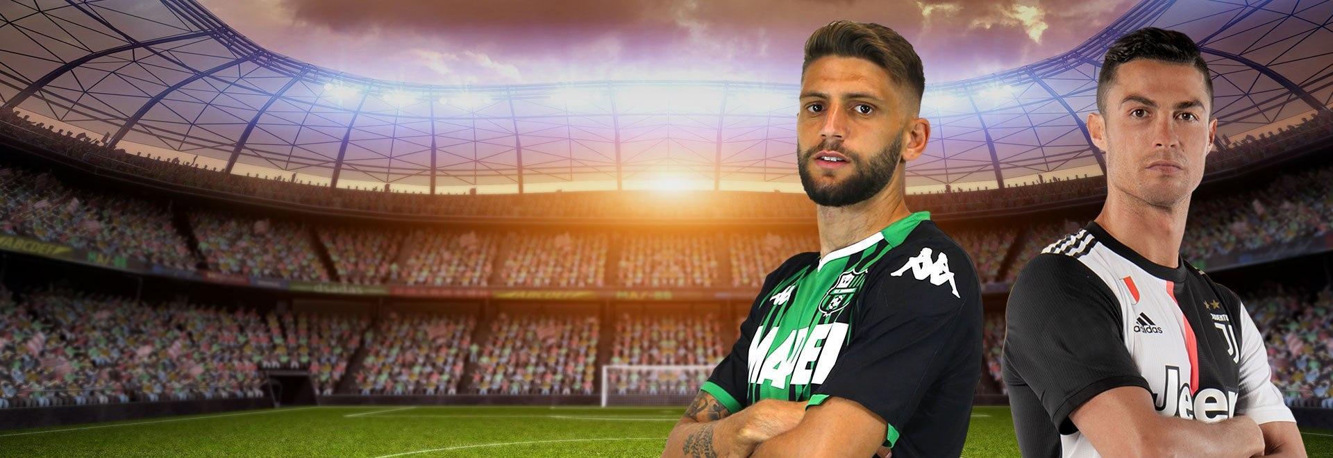 Sassuolo - Juventus. 33a g.