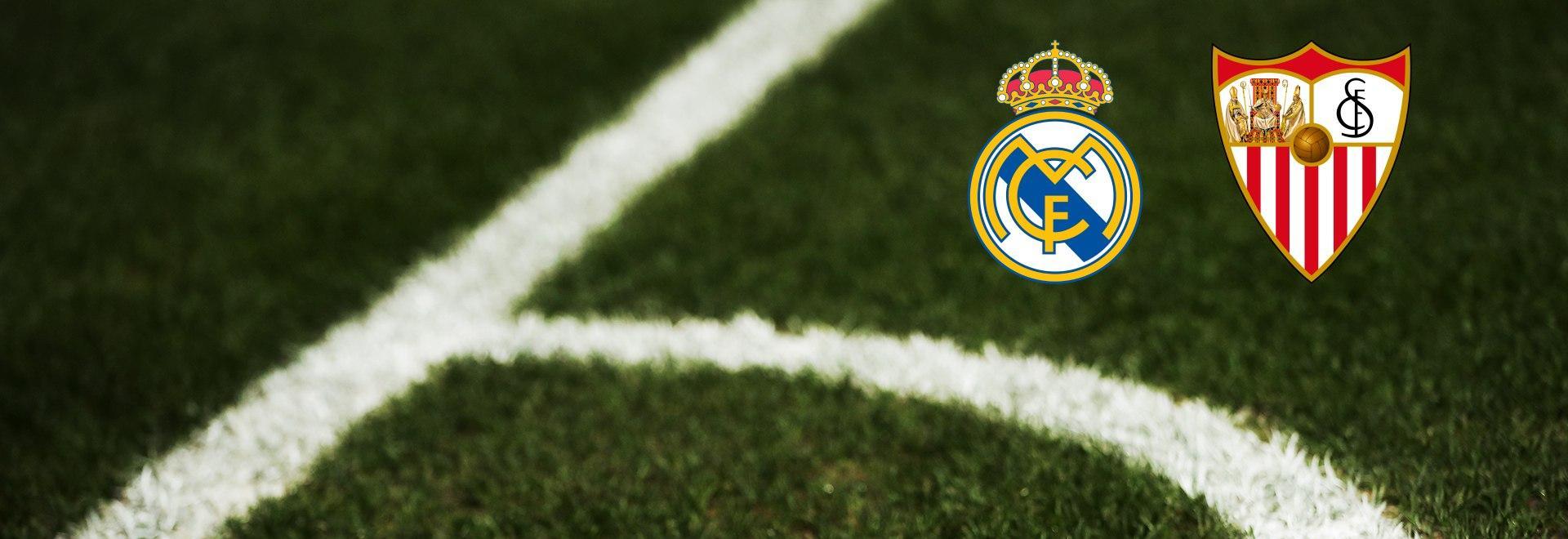 Real Madrid - Siviglia. 20a g.