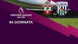 Southampton - West Bromwich Albion. 4a g.
