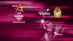 Vipers Kristiansand - CSKA Mosca. Semifinale
