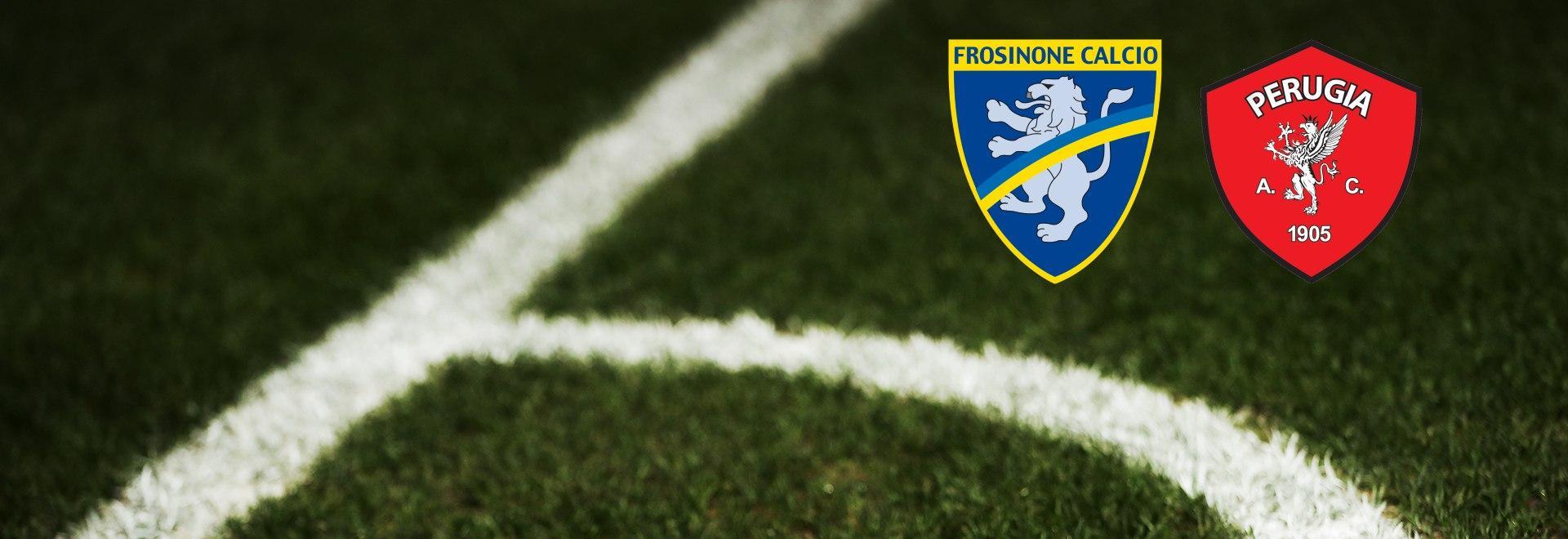 Frosinone - Perugia. 24a g.